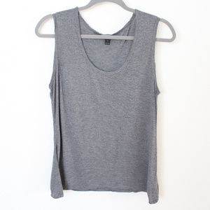 J. CREW Basic Gray Sleeveless Tank Top - Size M